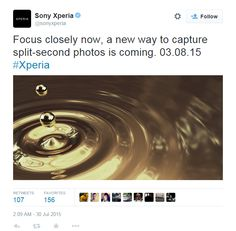 Sony teases new Xperia phone on August 3rd - https://www.aivanet.com/2015/07/sony-teases-new-xperia-phone-on-august-3rd/