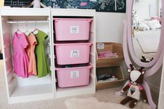 Organize Your Child's Clothes With This DIY Wardrobe Station