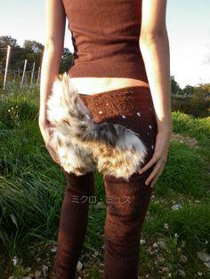 fur faun pants - Google Search