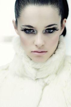 """LE SOT De L'ANGE""  Photographer Sarah Monrose  Stylist Sarah Monrose  Makeup Artist & Hair Stylist Natasha Devedlaka  Models Samara - Elite Models London and Natalia Warner - Actress"