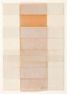 just another masterpiece: Dorothea Rockburne.
