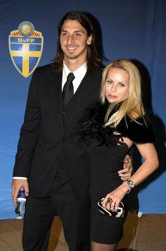 the perfect couple! zlatan and helena