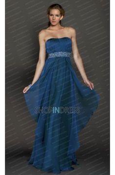Blue Prom Dress Formal Dresses