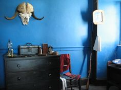Lower Fort Garry: The Blue Room