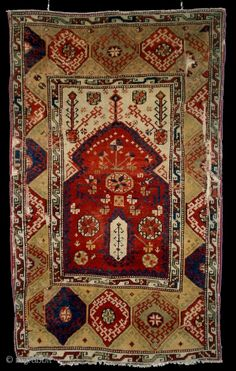 Fragmented Prayer Rug, Bergama Area, Western Anatolia 18th c., 89 x 146 cm. I have just traded back this interesting and rare prayer rug fragment which I had sold almost 20 years ago. ...