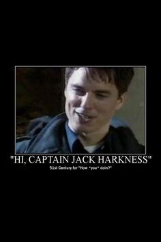 Captain Jack Harkness everyone