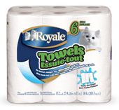 Royale Paper Towel Coupon Save 75 cents from Gocoupons.ca