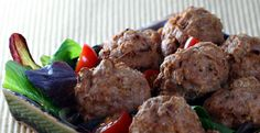 Chipotle turkey meatballs from The Perfect Pantry.