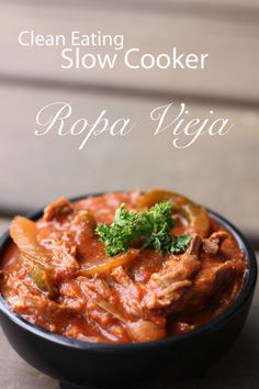 Clean Eating Slow Cooker Ropa Vieja ~ Clean Eating Slow Cooker.com