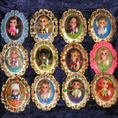 Kiddles Little Lockets Dolls; Totally fascinated with these little dolls. Kiddles Little Lockets Dolls; Totally fascinated with these little dolls. My Childhood Memories, Childhood Toys, Great Memories, 1970s Childhood, 1960s Toys, Retro Toys, Nostalgia, Ol Days, My Memory