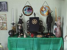wiccan altar - Google Search