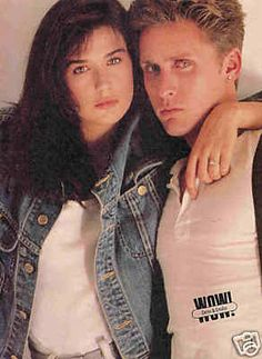 3  Demi Moore & Emilio Estevez (Charlie Sheen's brother)1985, were engaged for 2 years