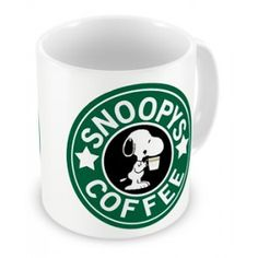 Caneca Snoopy Coffee
