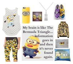 """Minion Day"" by kunasek6422 ❤ liked on Polyvore featuring art"