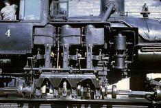 The Shay Geared Steam Locomotive
