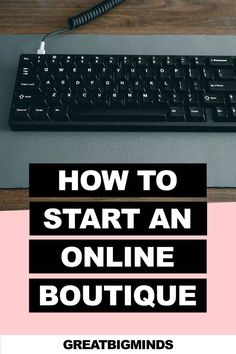 Learn how to start online boutique business in 6 simple steps. By the end of this step by step tutorial, you would have learned how to build a profitable online clothing boutique today. Read more inside. #onlinestore #onlineboutique #onlineclothingboutique #onlineboutiquebusiness #ecommerce Starting An Online Boutique, Selling Online, Online Income, Earn Money Online, Business Tips, Online Business, Online Clothing Boutiques, Starting A Business, Read More