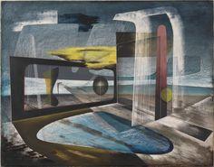 John Tunnard – 'Reclamation' 1944