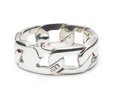 Sterling silver bracelet // 112 Vishnu // www.silkjewellery.nl