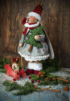 Купить Софи - голубой, новогодний подарок, новогодний интерьер, зайка, милый подарок, новый год 2016