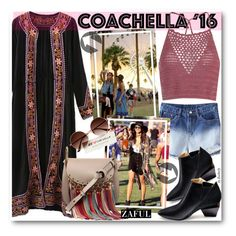 """Hot Coachella Style (boho style)"" by beebeely-look ❤ liked on Polyvore featuring Glamorous, Chloé, festival, Bohemian, coachella, zaful and bestofcoachella"