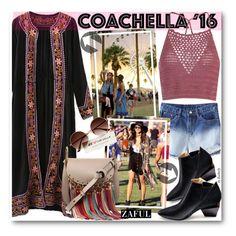 """Hot Coachella Style (boho style)"" by beebeely-look ❤ liked on Polyvore featuring Glamorous, Chloé, festival, Bohemian, coachella, zaful and bestofcoachella"