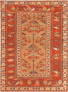 Antique Turkish Melas Rug 47481 Main Image - By Nazmiyal