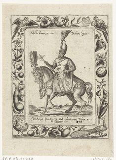 Luitenant van de Janitsaren te paard, attributed to Abraham de Bruyn, 1577