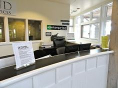enterprise rent car drop off service