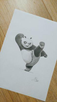 Master Po - Kung Fu Panda Pencil Sketch - drawing