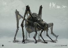 call of cthulhu Monster Art, Creepy Monster, Fantasy Monster, Monster Design, Dark Fantasy Art, Arte Horror, Horror Art, Creature Feature, Creature Design
