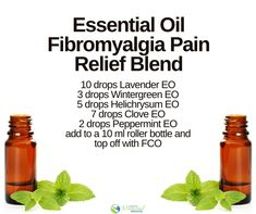11 AMAZING Essential Oil Pain Relief Recipes & Blends - Enjoy Natural Health