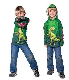 sudadera infantil dinosaurio Moda interactiva para divertirse