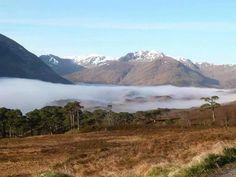 Morning mist, Glen Affric, Scotland.