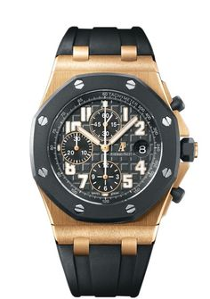 Audemars Piquet Royal Oak Offshore Rubberclad Rosegold