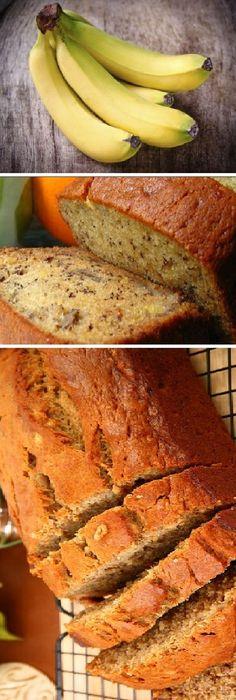 Haz este pan de plátano sin harina, súper saludable y rico. #plátano #banana #saludable #postres #receta #recipe #casero #torta #tartas #pastel #nestlecocina #bizcocho #bizcochuelo #tasty #cocina #chocolate #pan #panes Si te gusta dinos HOLA y dale a Me Gusta MIREN…
