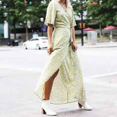 See how your favorite bloggers style the maxi dress and shop seven affordable versions.