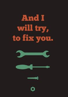 I should fix myself first!!!