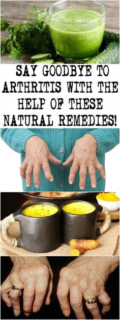 SAY GOODBYE TO ARTHRITIS WITH THE HELP OF THESE NATURAL REMEDIES!