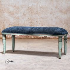 Uttermost Femi Seaglass Green Bench PURCHASED