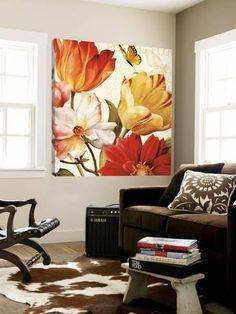 Loft Art: Abstract Floral & Botanical Urban Loft Art by Doris Savard : Urban Loft, Decoration Inspiration, Botanical Art, Find Art, Framed Artwork, Wall Murals, Wall Decal, Marie, Creations