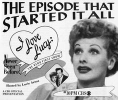 CBS archive photos of Lucille Ball