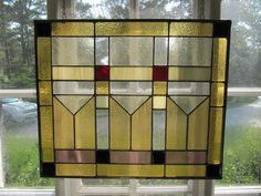 Martini Glasses stained glass panel designed by Art Glass: Inspired in shades of gold, purple and red --- www.artglassinspired.etsy.com