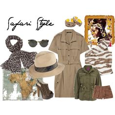 """""""Safari Style"""" by lamujermasinvisible on Polyvore"""