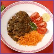Art Brinjal Bharta food-and-drink