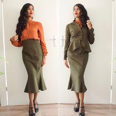 1940s fashion style! Check more vintage & retro styles at instagram: @orientalspiceandsomechocolate
