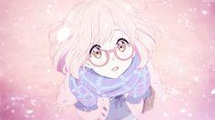 anime cute, anime girl, art, cute, draw, gif, glasses, kawaii, love, manga, manga girl, pink, pink hair, sakura, tumblr, anime romantic, manga cute, anime, ️anime love