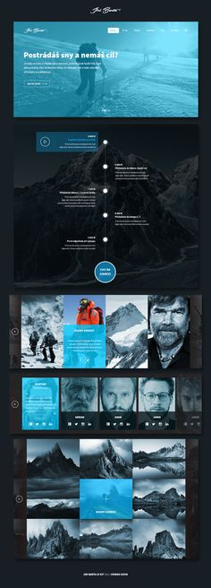FREE Mountaineer UI KIT - Download Free Graphics and Web Resources