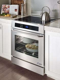 """Dacor RNR30NIS 30"""" Slide-in Electric Range with Smoothtop Cooktop. Dacor - Up to $3347 Savings Option 1:  Purchase any 30""""/36""""/48"""" Range and choose to receive up to $500 savings on select Dishwasher or $250 Instant Savings.   Option 2:  Purchase any Cooktop plus Wall Oven and choose to receive up to $500 savings on select Dishwasher or $250 Instant Savings. For additional rebates visit the link."""