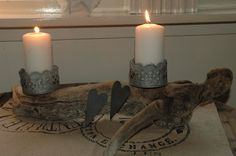 DIY Pillar Candles, Red, Taper Candles, Candles