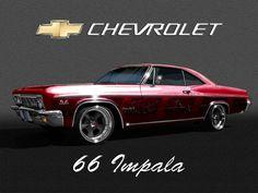 66 Impala LOVE impalas!!! 66 Impala, 1966 Chevy Impala, 1957 Chevy Bel Air, Car Pics, Car Pictures, Gm Car, Old School Cars, Sweet Cars, Nice Cars